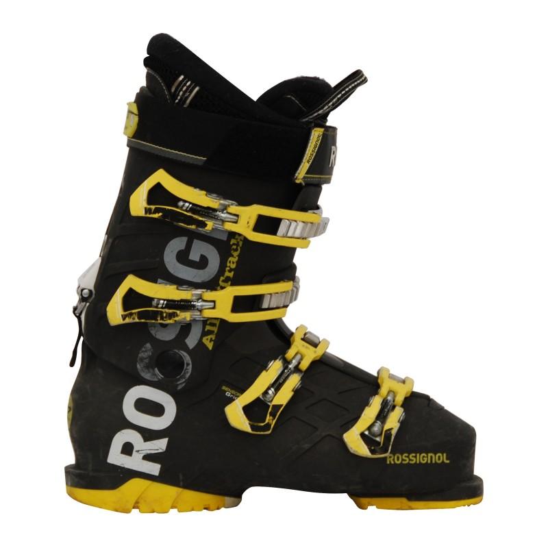 Chaussure de ski occasion Rossignol All track noir/jaune qualité A