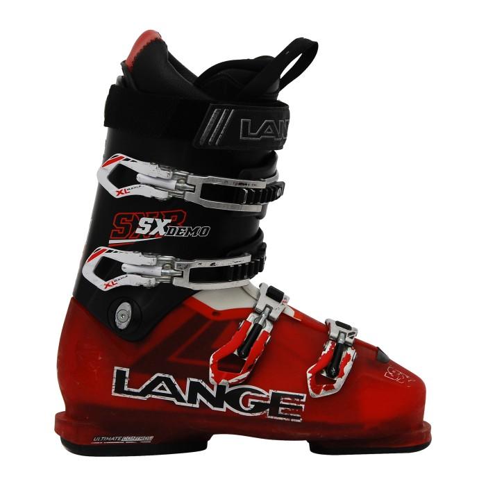 Gebrauchte Lange SX 80 Rtl Rot / Schwarz Skischuh