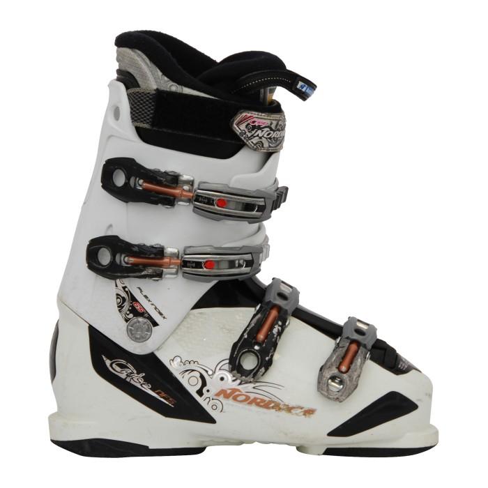 Ski usado Nordica Cruise NFS zapato de esquí blanco/negro