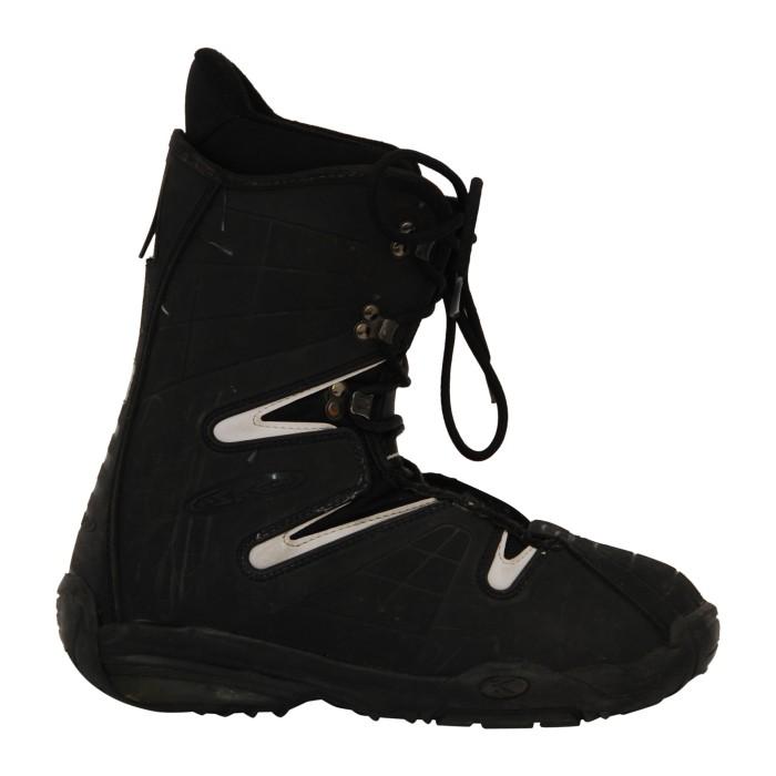 Askew black snowboard boot boots