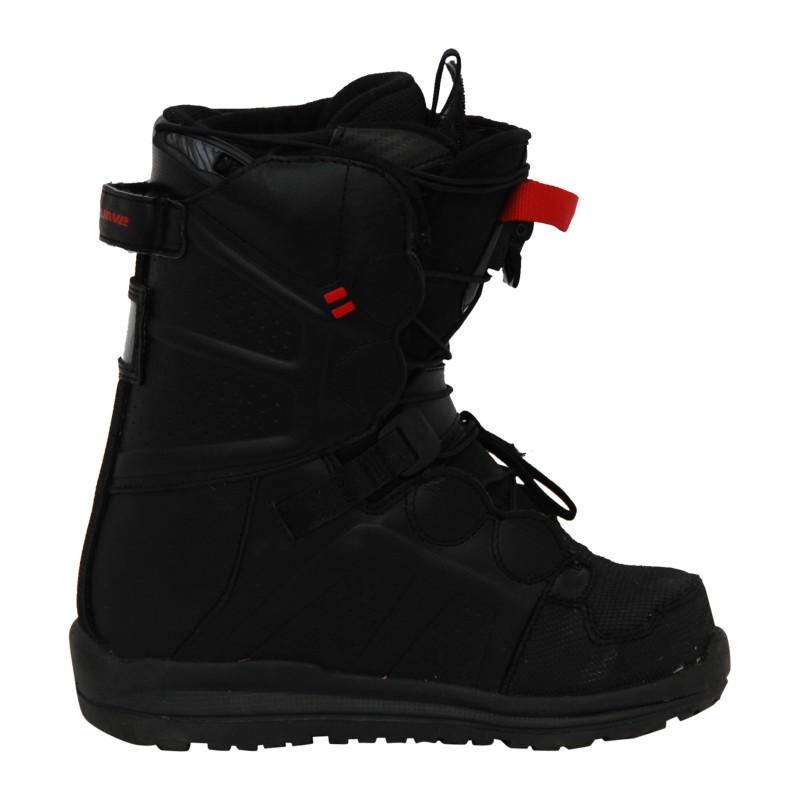 Boots occasion Northwave noir et rouge qualité B