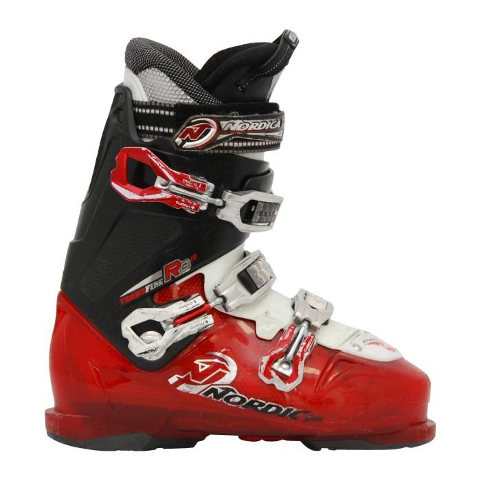 scarpone da sci Nordica R3R nero / rosso