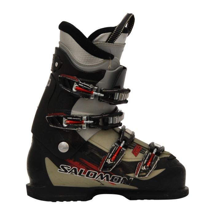 Las botas de esquí Salomon mission 550 usadas en negro / gris