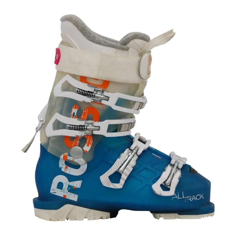 Chaussure de ski occasion femme Rossignol All track bleu/blanc