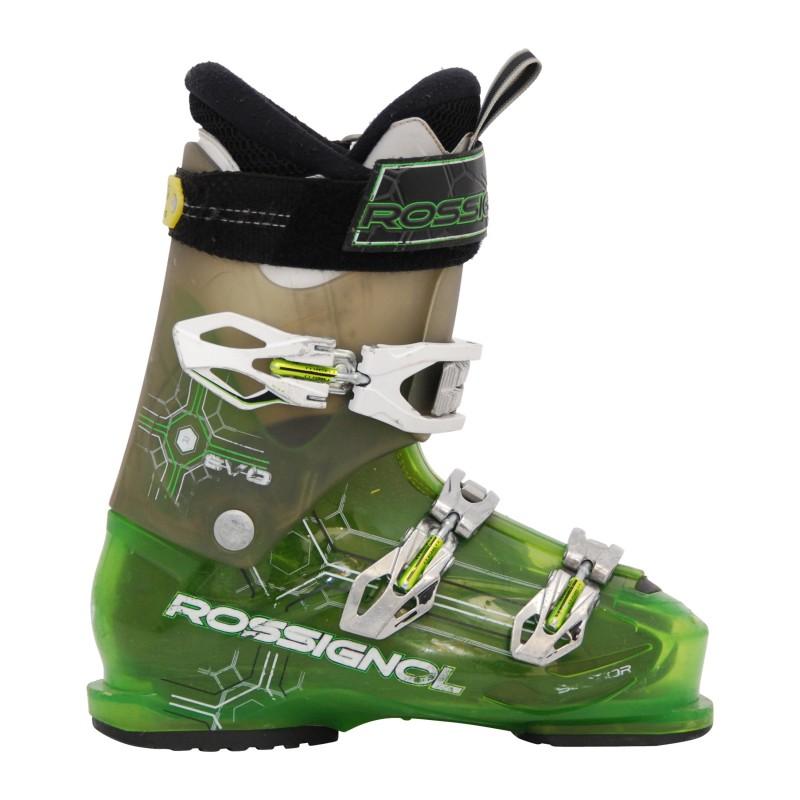Chaussure de ski occasion Rossignol Evo R Gris/vert