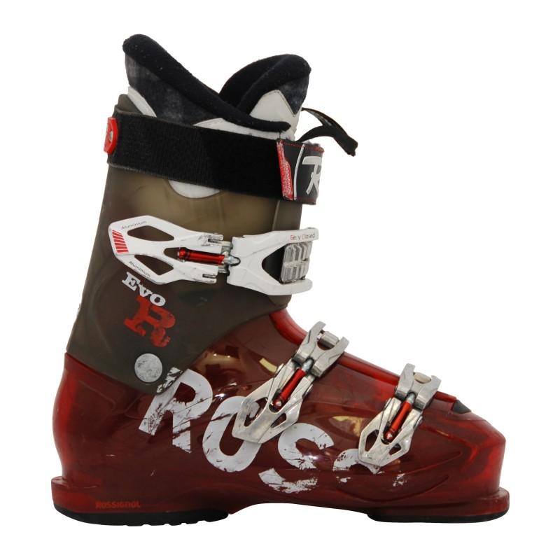 Chaussures ski occasion Rossignol Evo R gris/rouge