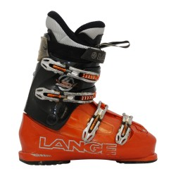 Lange Concept Plus Braun / Orange Skischuh