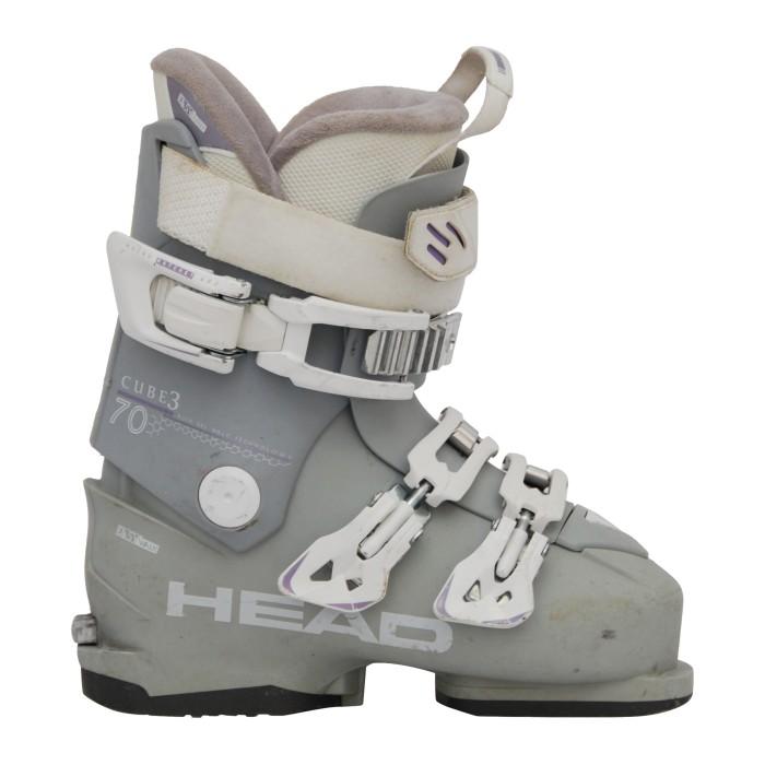 Zapato de esquí Ocasión Cabeza cubo 3 70 gris