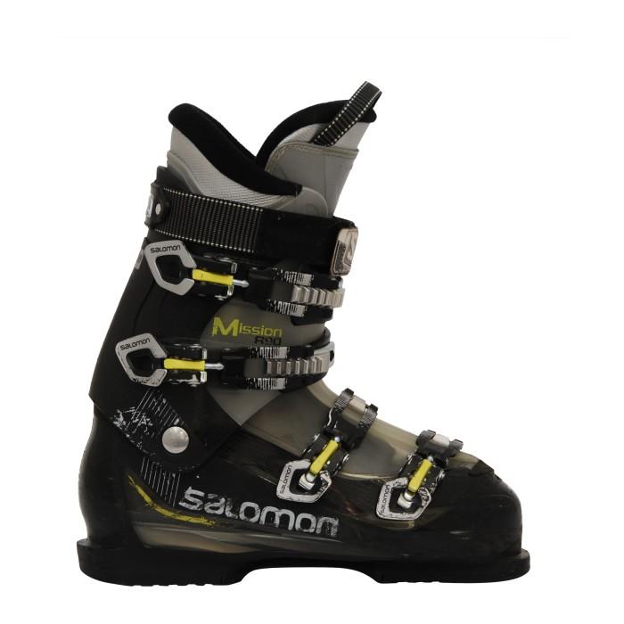 Chaussure de ski Occasion Salomon mission R90 noir jaune