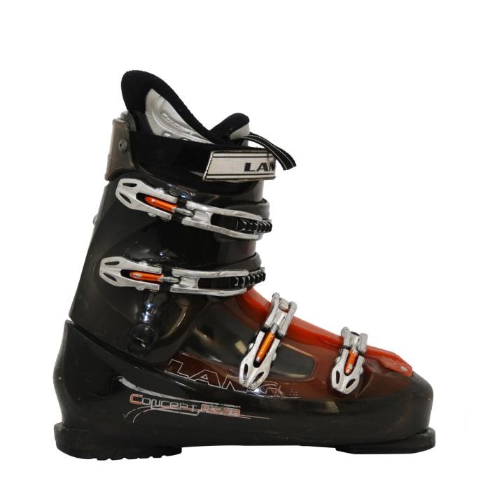 Ski Shoe Occasion Lange concept R orange/black