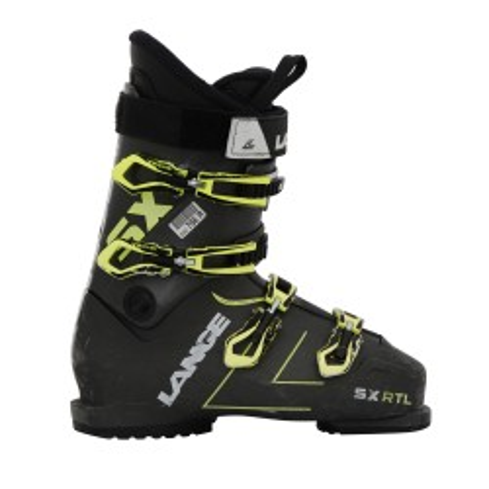 Ski Occasion Lange SX RTL Scarpa da sci nero/verde