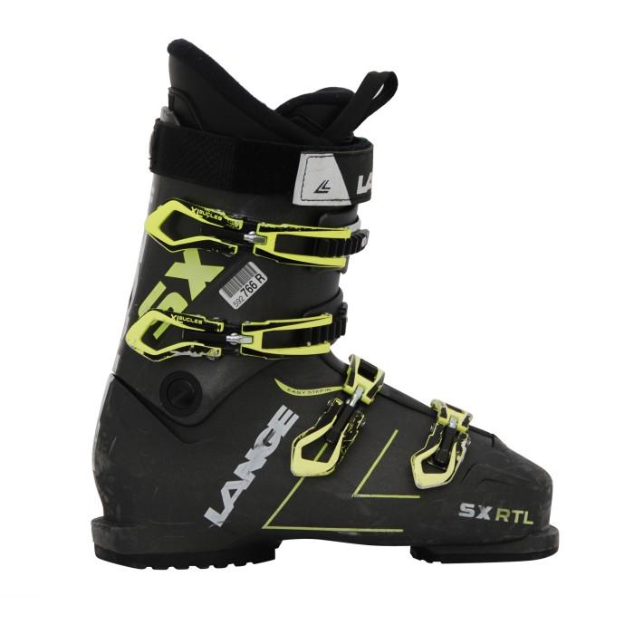 Ski Occasion Lange SX RTL schwarz-grüner Skischuh