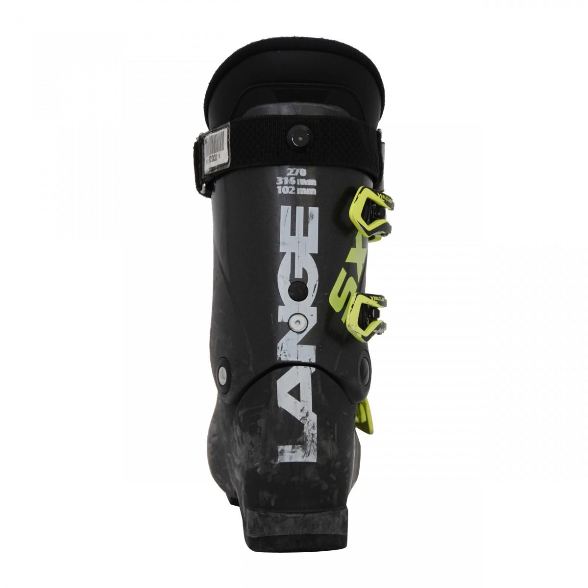 Chaussure-de-Ski-Occasion-Lange-SX-RTL-noir-vert miniature 3