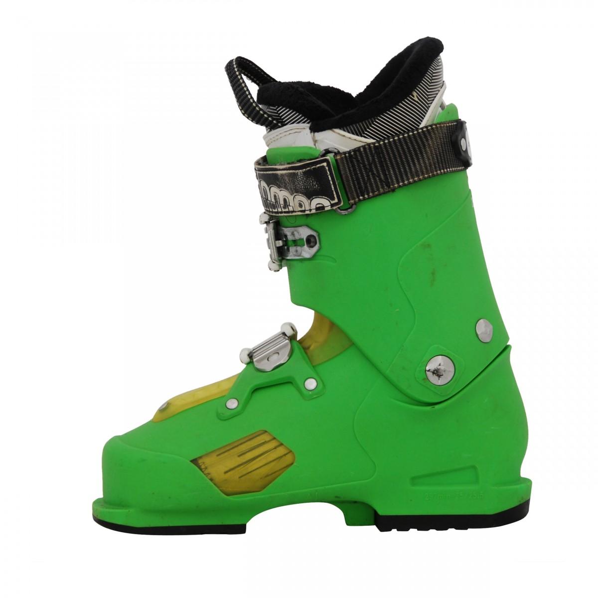 Gebrauchter Skischuh Salomon focus green