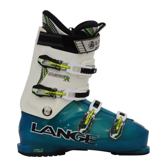 Botas de esquí Ocasión Lange Blaster R blanco/azul