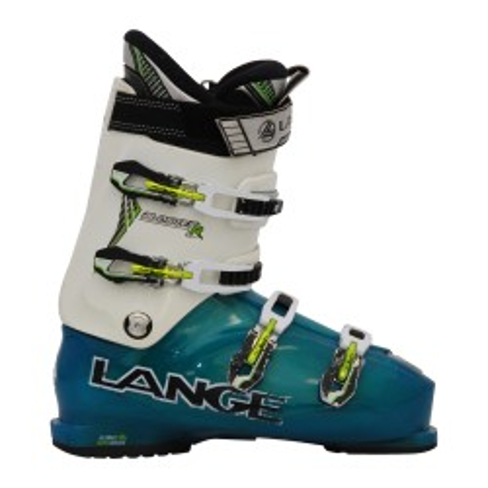 Skischuh Gelegenheit Lange Blaster R weiß/blau