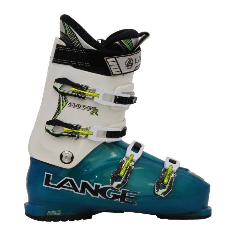 Chaussure de Ski Occasion Lange Blaster R blanc/bleu qualité A