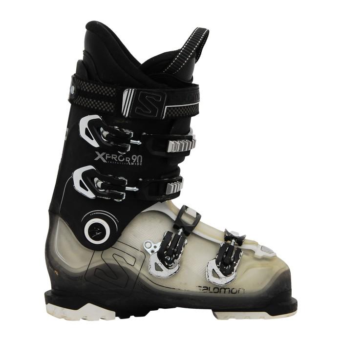 Bota de esquí usada Salomon Xpro R90 negro/trans