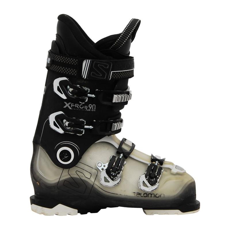 Chaussure ski occasion Salomon Xpro R90 noir/trans qualité A
