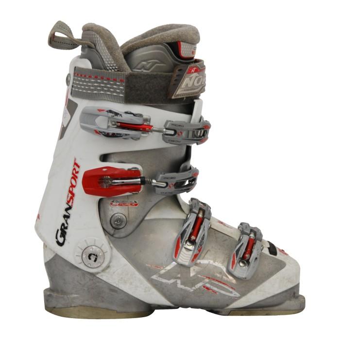 Nordica Gransport botas de esquí usadas en gris/blanco