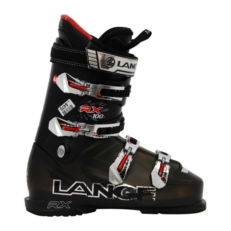 Chaussure de ski occasion Lange RX 100 noir qualité A