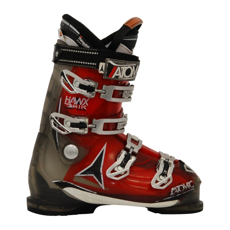 Chaussure Ski Occasion Atomic Hawx 2.0 plus rouge/gris