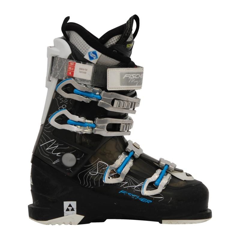 Chaussure de ski occasion femme Fischer my style 8 noir/bleu qualité A
