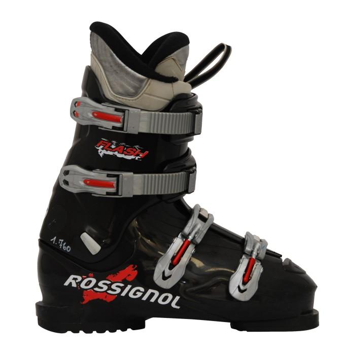 Bota de esquí de noche usada Rossignol Flash negro
