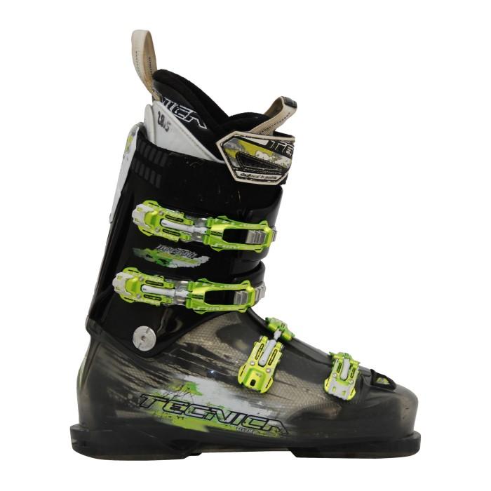 Gebrauchte Skischuhe Tecnica Inferno schwarzgrün
