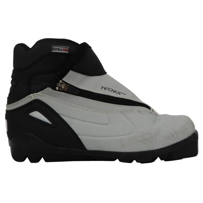 Chaussure ski fond occasion Tecnopro Ultra pro noir gris