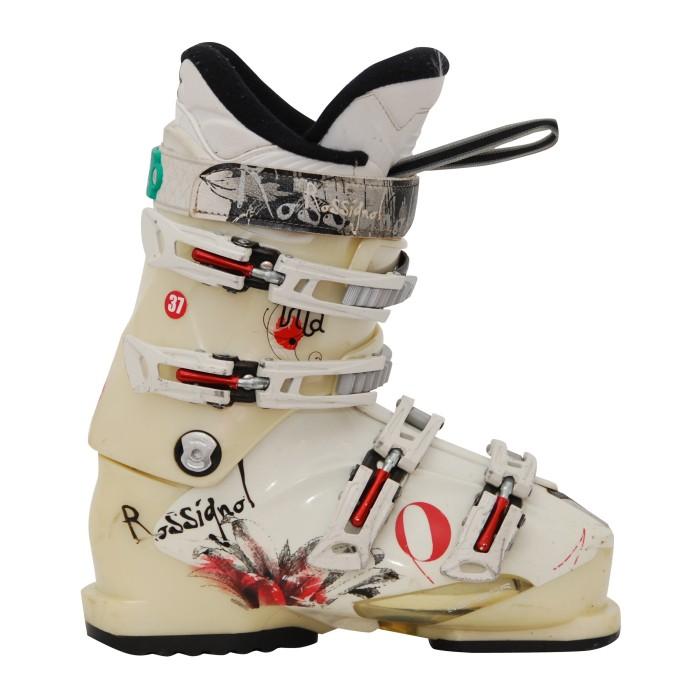 used Rossignol vita white ski boot