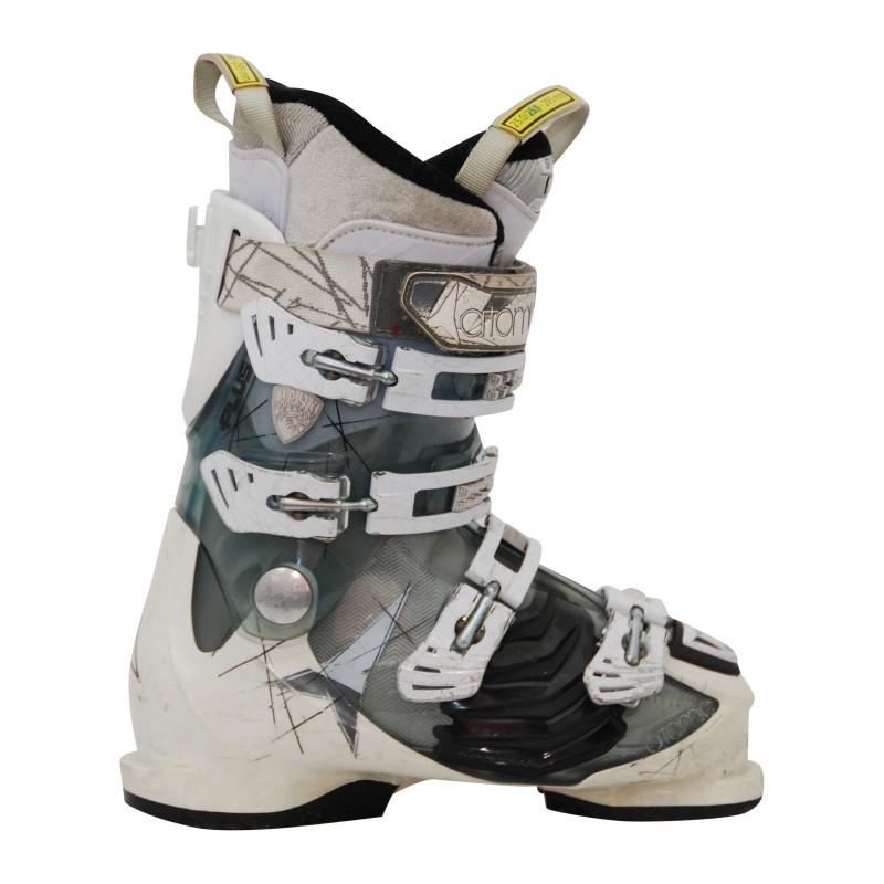 Chaussures de ski occasion femme Atomic Hawx+ translucide