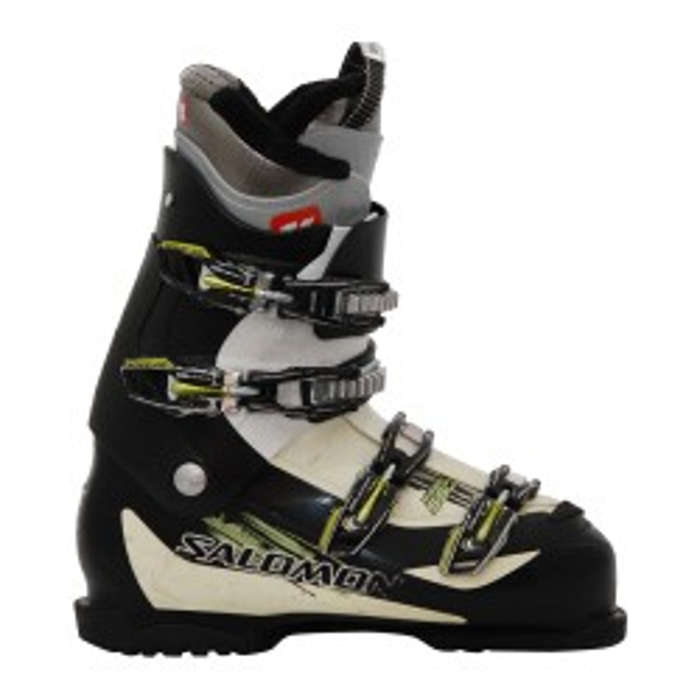 Ski boot Occasion Salomon mission 550 black yellow bench
