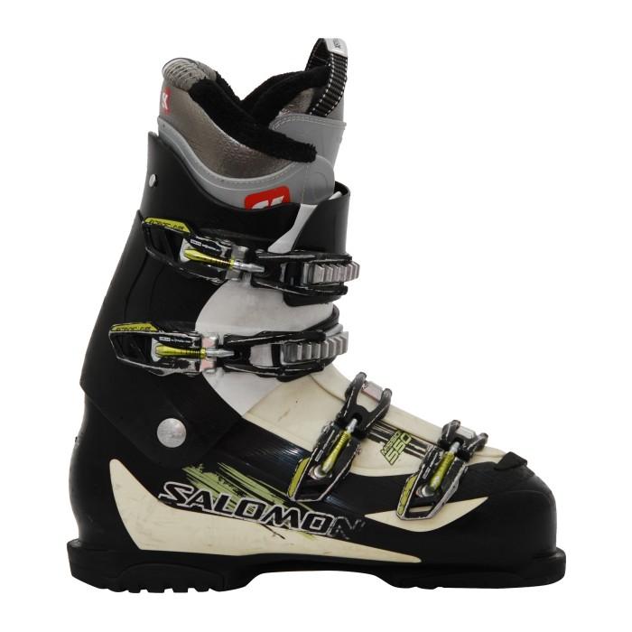 Skischuh Gelegenheit Salomon Mission 550 schwarz gelb Bank