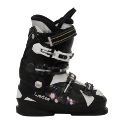wed'ze aluminum 10 black ski boot