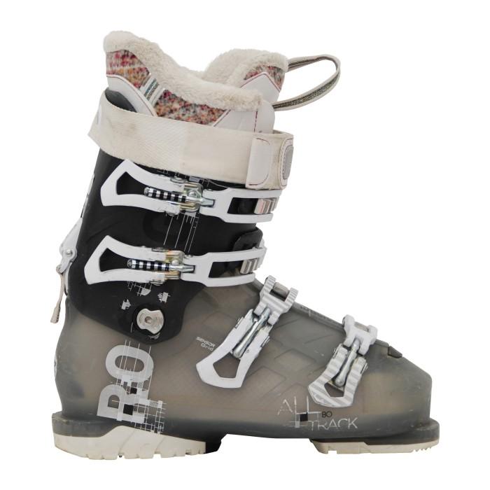 Gebrauchte Skischuhe Rossignol Alle Spur 90 schwarz/grau