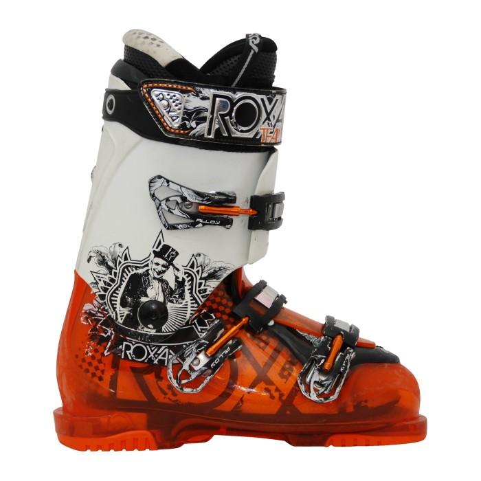 Chaussure de ski occasion Roxa Evo 9 orange blanc