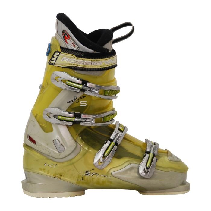Chaussures de ski occasion adulte Rossignol exalt XS jaune/gris