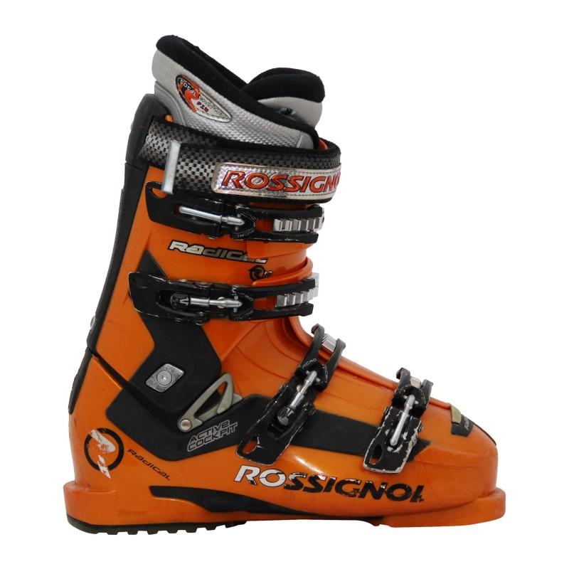 Chaussure de ski occasion Rossignol radical R12 orange qualité A