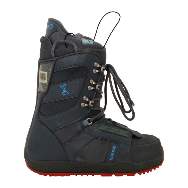 Boots de snowboard Neuves Burton Progression Femme Gris/Bleu qualité A