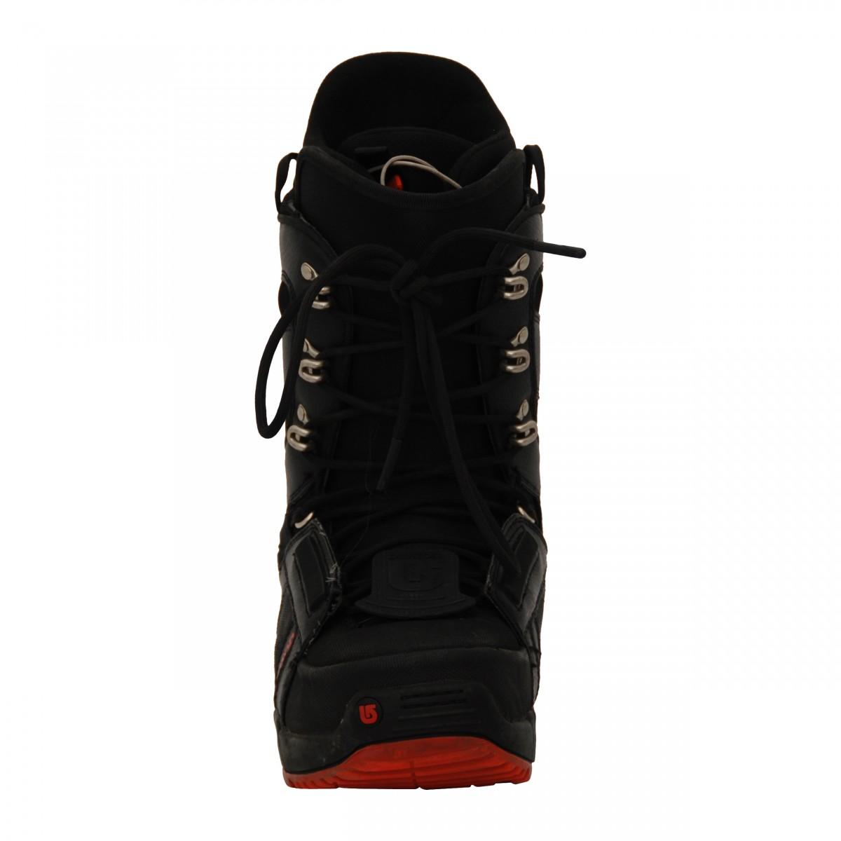 Boots-occasion-Burton-progression-noir-rouge miniature 5
