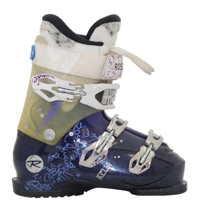 Ocasión Rossignol Kelia morado / translúcido bota de esquí