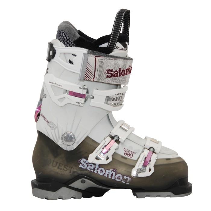 Chaussure de ski Occasion Salomon quest access 880 w noir/blanc