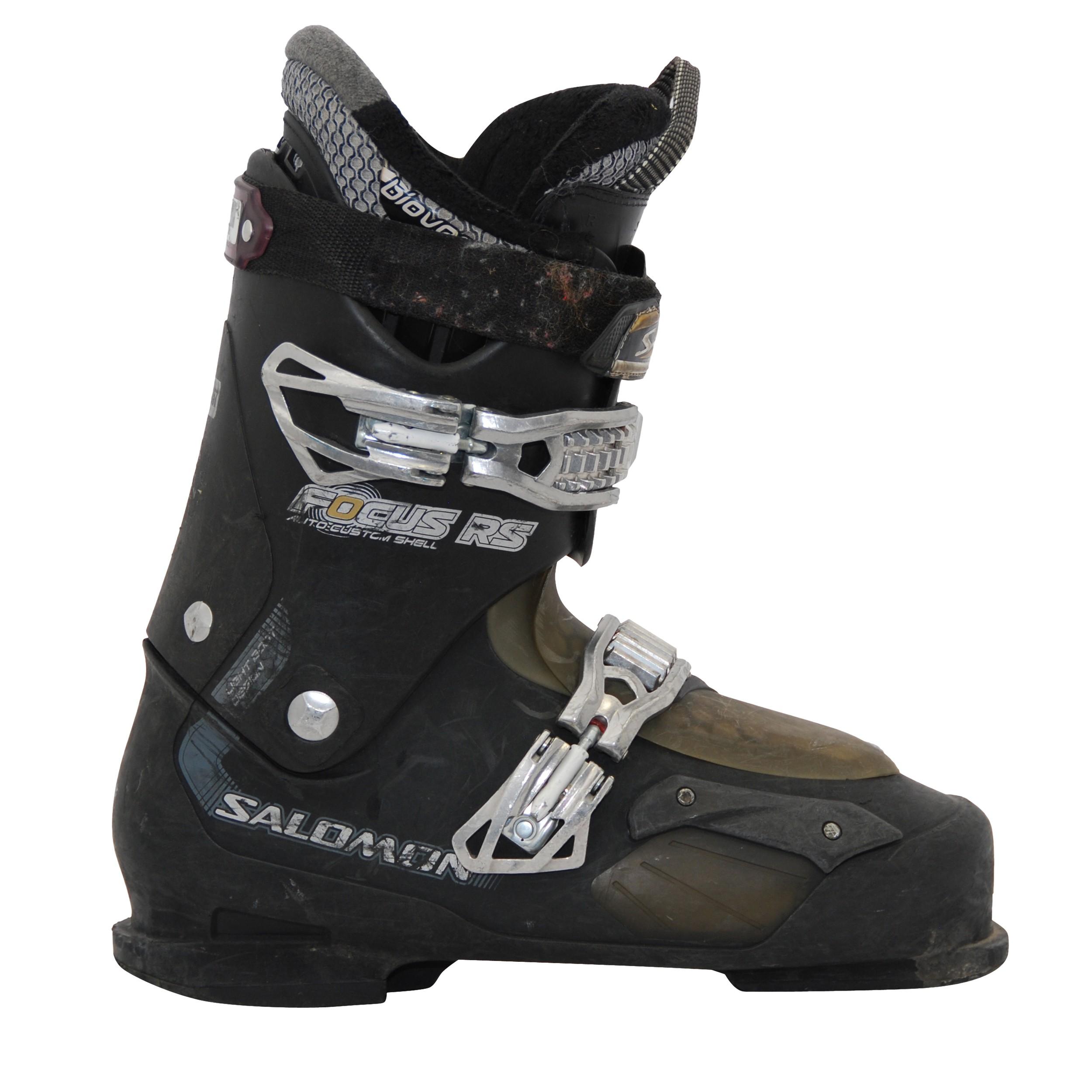 Chaussure de ski occasion Salomon focus noir