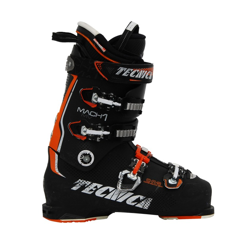 Chaussure de ski occasion Tecnica Mach 1 mv noir/orange