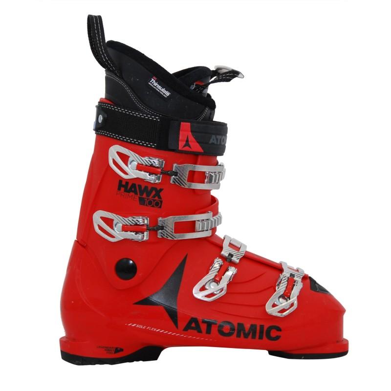 Chaussures de ski occasion Atomic hawx Prime R 100 rouge qualité A