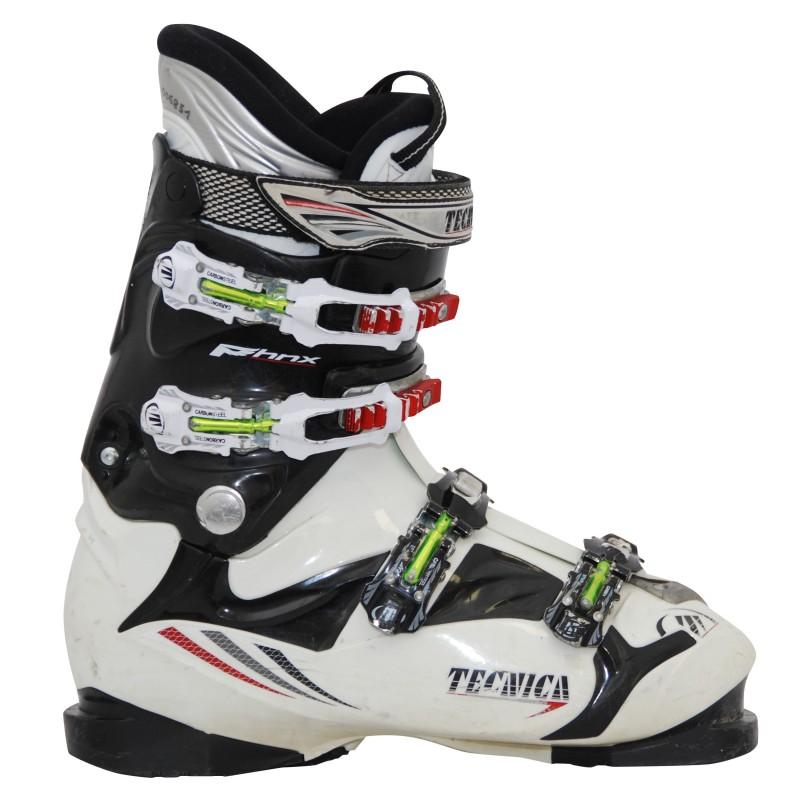 Chaussures de ski occasion Tecnica phnx noir/blanc qualité A