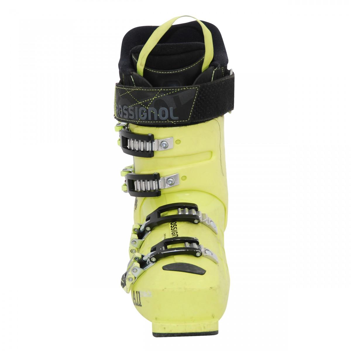 Chaussure-de-ski-occasion-junior-Rossignol-All-track-jaune miniature 5