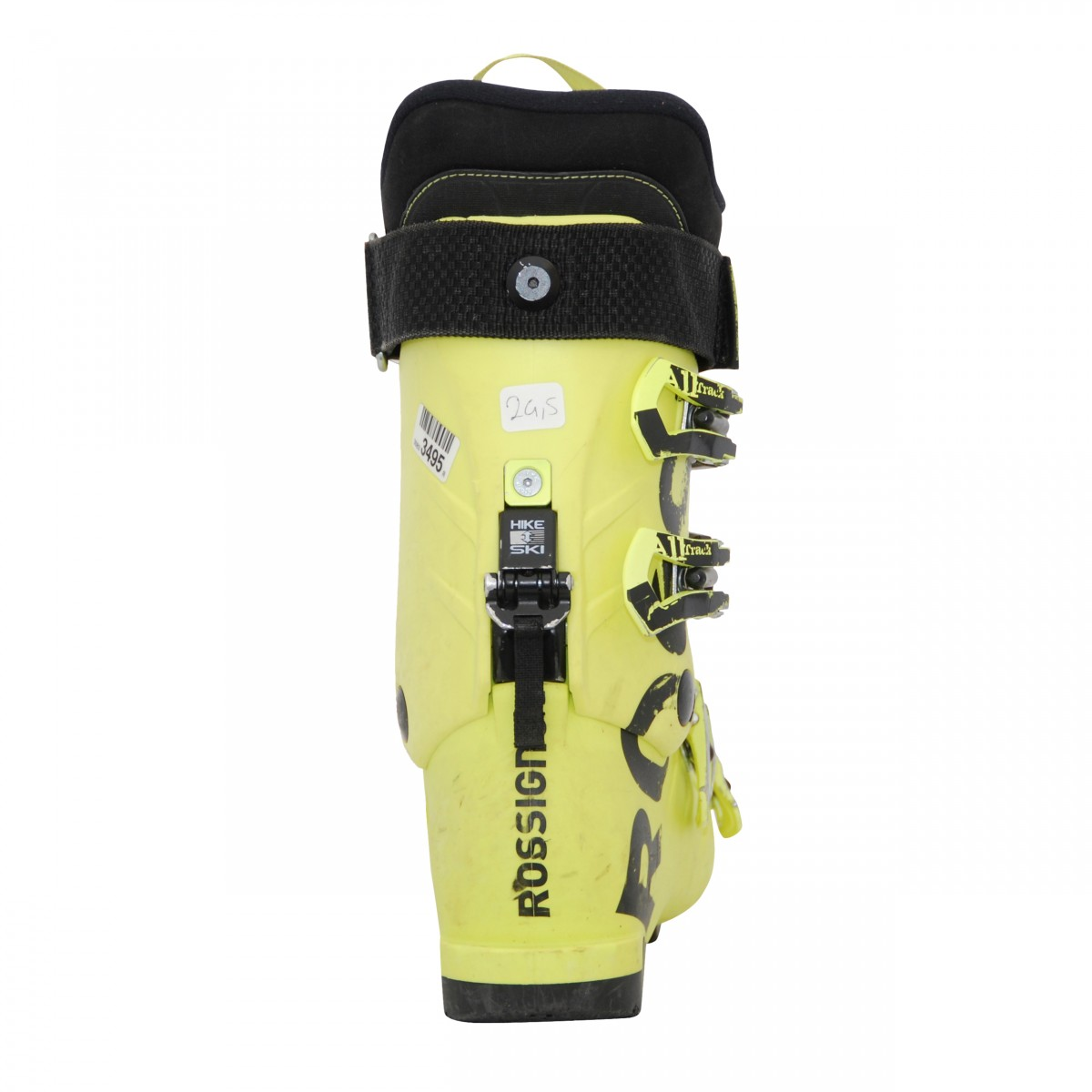Chaussure-de-ski-occasion-junior-Rossignol-All-track-jaune miniature 3