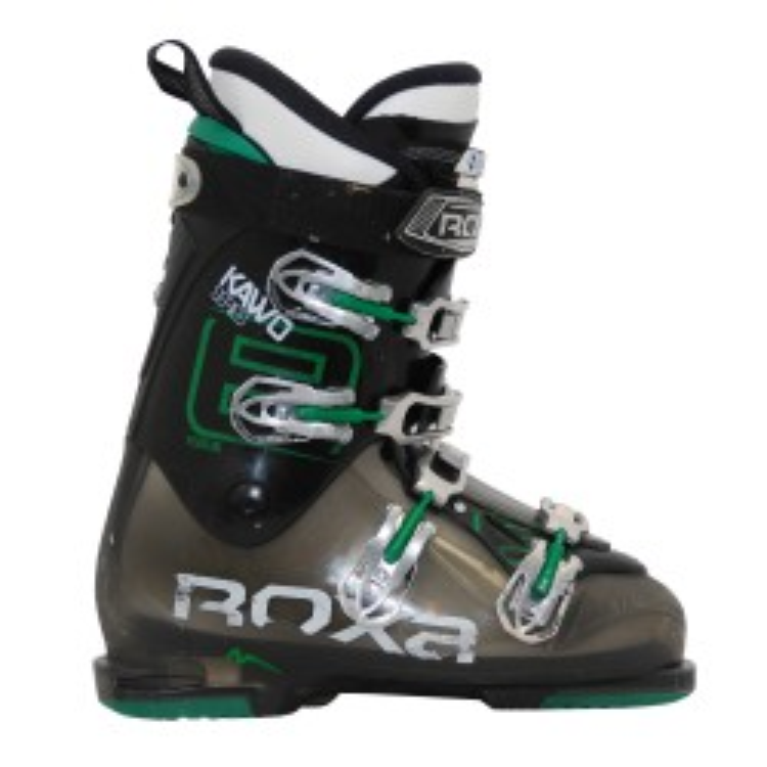 Used ski boot Roxa Kawo series 8 black green